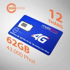 SIM 4G MOBI C90 tặng 62GB/tháng, gọi nội mạng miễn phí không giới hạn