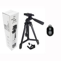 Chân máy ảnh Tripod TF-3120 mẫu mới 2018 + tặng Remote Bluetooth