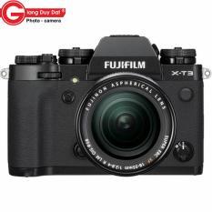 Máy ảnh Fujifilm X-T3 + Lens Fujifilm XF 18-55mm f/2.8-4 R (Đen) – Tặng thẻ 32GB, túi, dán màn hình – Hãng phân phối chính thức