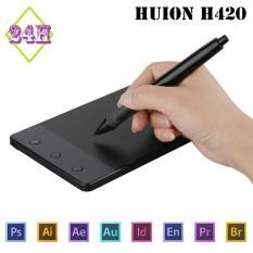 Bảng vẽ đồ họa Huion H420 – Bảng vẽ điện tử cao cấp Quốc Tế (Màu đen)