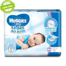 Tã dán sơ sinh Huggies S24 (4 – 8kg) 24 miếng