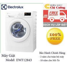 Máy giặt lồng ngang Electrolux EWF12843 8kg (Trắng)