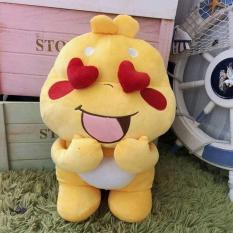 Gấu bông Qoobee Apagi giá rẻ, Size 25cm, Mẫu 4, đồ chơi dễ thương cho bé, quà tặng đáng yêu cho bạn gái (Vàng)
