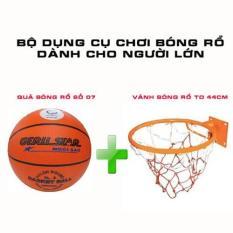 Bộ sản phẩm chơi bóng rổ dành cho người lớn