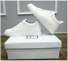 Giày nam sneaker tăng chiều cao ẩn (trắng)