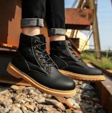 Giày Boot Da Nam PASSO G121