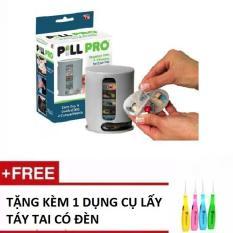 Hộp đựng thuốc thông minh đa năng Pill Pro Tặng kèm 1 BỘ dụng cụ lấy ráy tai có đèn