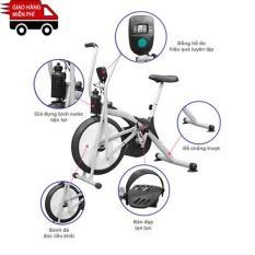Kachi – Xe đạp tập thể dục air bike MK98 (có đo nhịp tim)