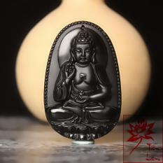 Dây Chuyền Phật A Di Đà cao cấp – Phật bản mệnh người tuổi Tuất, Hợi