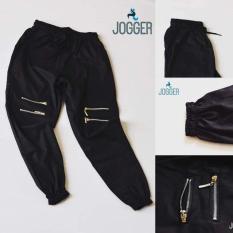Quần Jogger nam nữ phối khóa kéo – Quần kaki 4 khóa gối William's Store – TH113