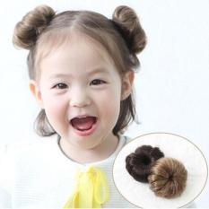 Búi tóc giả cho bé gái cực xinh