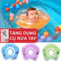Phao Bơi Phao Tắm cho bé. Tặng dụng cụ rửa tay cho bé