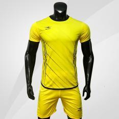 Bộ quần áo bóng đá cao cấp KEEP & FLY Chain 2.0 Vàng