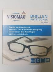 Giấy lau kính Visiomax giúp làm sạch và bảo vệ kính, xách tay Đức