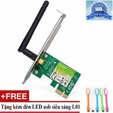 Card mạng thu WiFi TP-Link TL-WN781ND + Tặng đèn LED usb mã L01