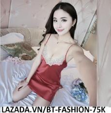 Đầm Ngủ Phi Bóng Mặc ở Nhà Thời Trang Mới – BT Fashion (ĐN-Ren Bông1)