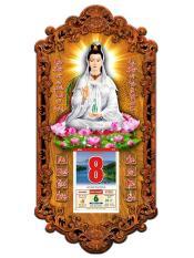 Lịch Phật Quang Âm Trắng bằng gỗ 3DP9_QAT