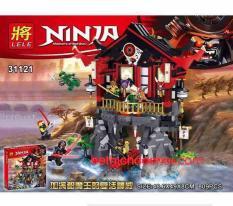 Lắp ráp Ninja 31121 đền phục sinh