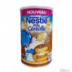 Ngũ cốc Nestle P'tit Souper vị bích quy sô cô la 400g 12tháng date 2021