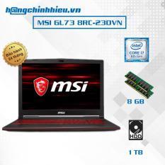 Laptop MSI GL73 8RC-230VN (i7-8750H, VGA GTX 1050 4GB, 17.3 FHD, Win 10) – Hãng phân phối chính thức