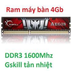 Ram Máy Tính DDR3 1600Mhz (Gskill Tản Nhiệt)