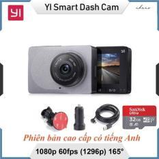 Camera hành trình Xiaomi YI Car độ nét 2K – 2 cổng USB + Tặng kèm thẻ nhớ 32Gb Sandisk tốc độ cao
