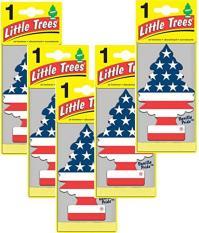 Bộ 5 cây thông thơm Vanilla Pride Little Trees