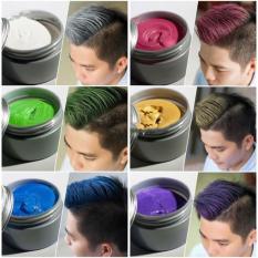 sáp vuôts tóc tạo màu cá tính đầy đủ 8 màu lựa chọn tiện lợi khi dùng