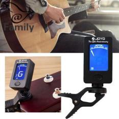 Big Family Chromatic Clip Electric Guitar Tuner Digital folk songs Audition metronome Bass – intl