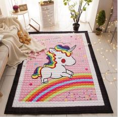cotton cartoon crawling padded children folding baby living room carpet climbing mat wholesale