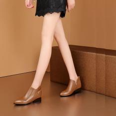 Giày boot bốt nữ đẹp hàng hiệu Rosata-bệt phong cách RO182