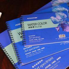 Sổ vẽ Potentate-22781-Sổ A5-Sổ vẽ màu nước, Watercolor pad ,sketch, Drawing book -Kích thước 195×135