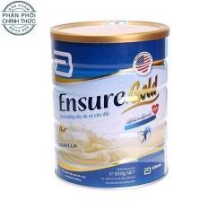 Lon sữa bột Ensure Gold Hương Vani 850g.