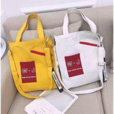 Túi tote canvas đeo vai, đeo chéo thời trang Hàn Quốc -TT06 – WJ The Hills (Nhiều Màu)