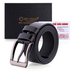 Thắt lưng nam bát gài bản lớn màu đen LH4138