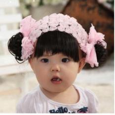 Băng đô tóc giả cho bé gái từ 0-24 tháng – BD10