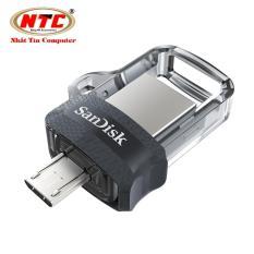 USB OTG SanDisk Ultra 16GB Dual Drive m3.0 (Bạc)