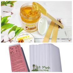 Wax Tẩy Lông tại nhà với sáp mật ong ĐạtMinh.