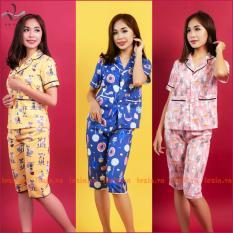 Bộ pijama nữ vải Kate Thái cao cấp Vải Việt