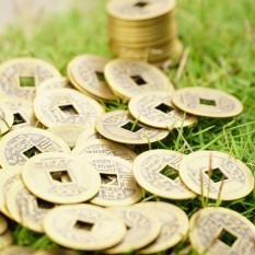 Đồng tiền xu cổ phong thủy gia tăng may mắn tiền tài sự nghiệp