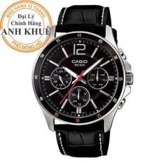 Đồng hồ nam dây da Casio Anh Khuê MTP-1374L-1AVDF