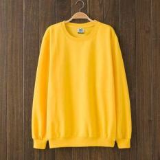 SWEATER BASIC vàng – Áo tay dài BASIC màu Vàng