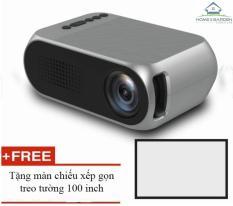 Projector phim mini YG320 màn ảnh rộng + tặng màn chiếu 100 inch