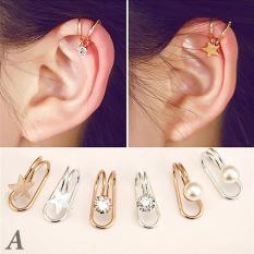 Hoa tai – bông tai kẹp vành tai – BT4