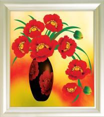 V024 Tranh gắn đá Flowers 13