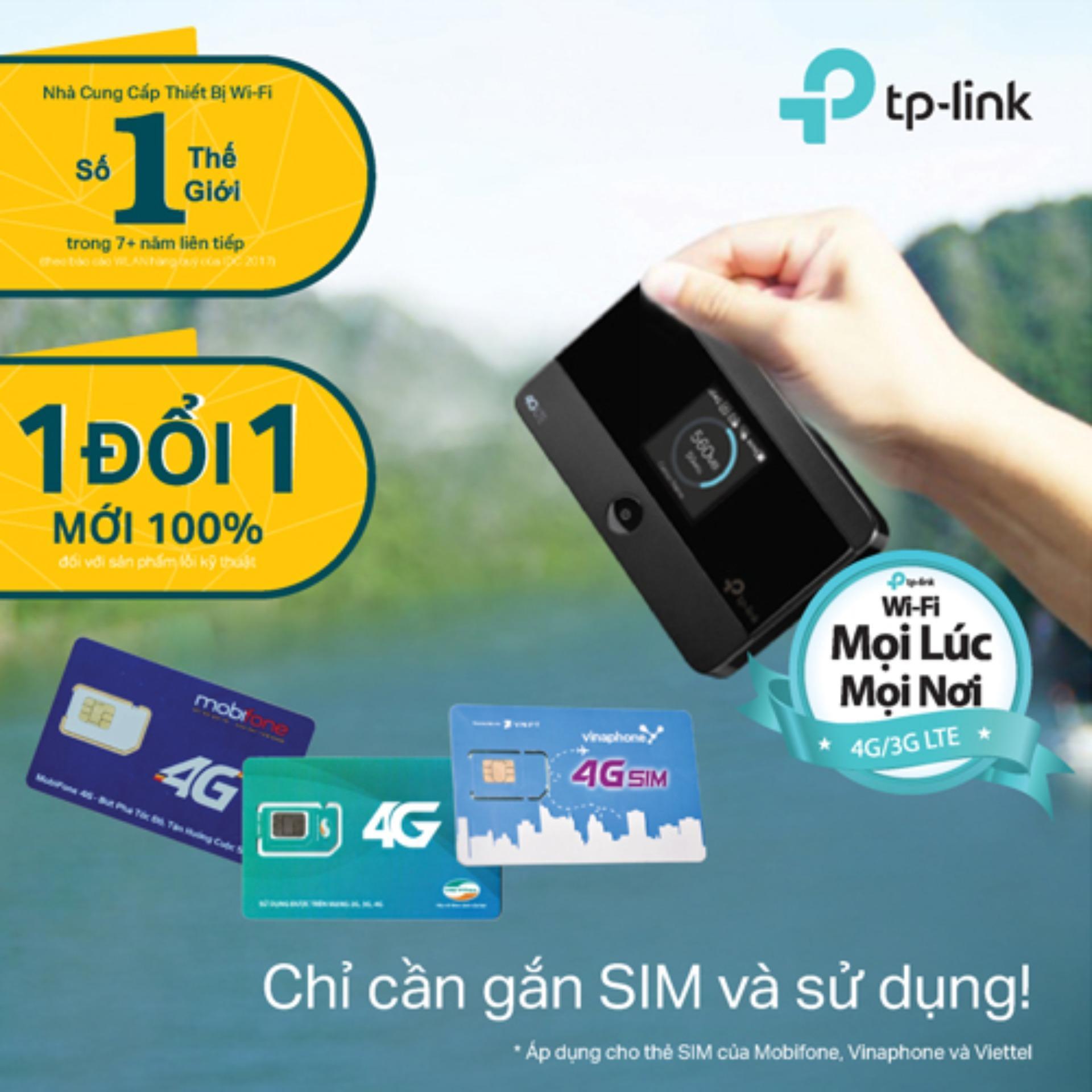 Nên mua TP-Link – M7350 – Bộ phát Wi-Fi Di động 4G LTE-Hãng phân phối chính thức ở TP-Link