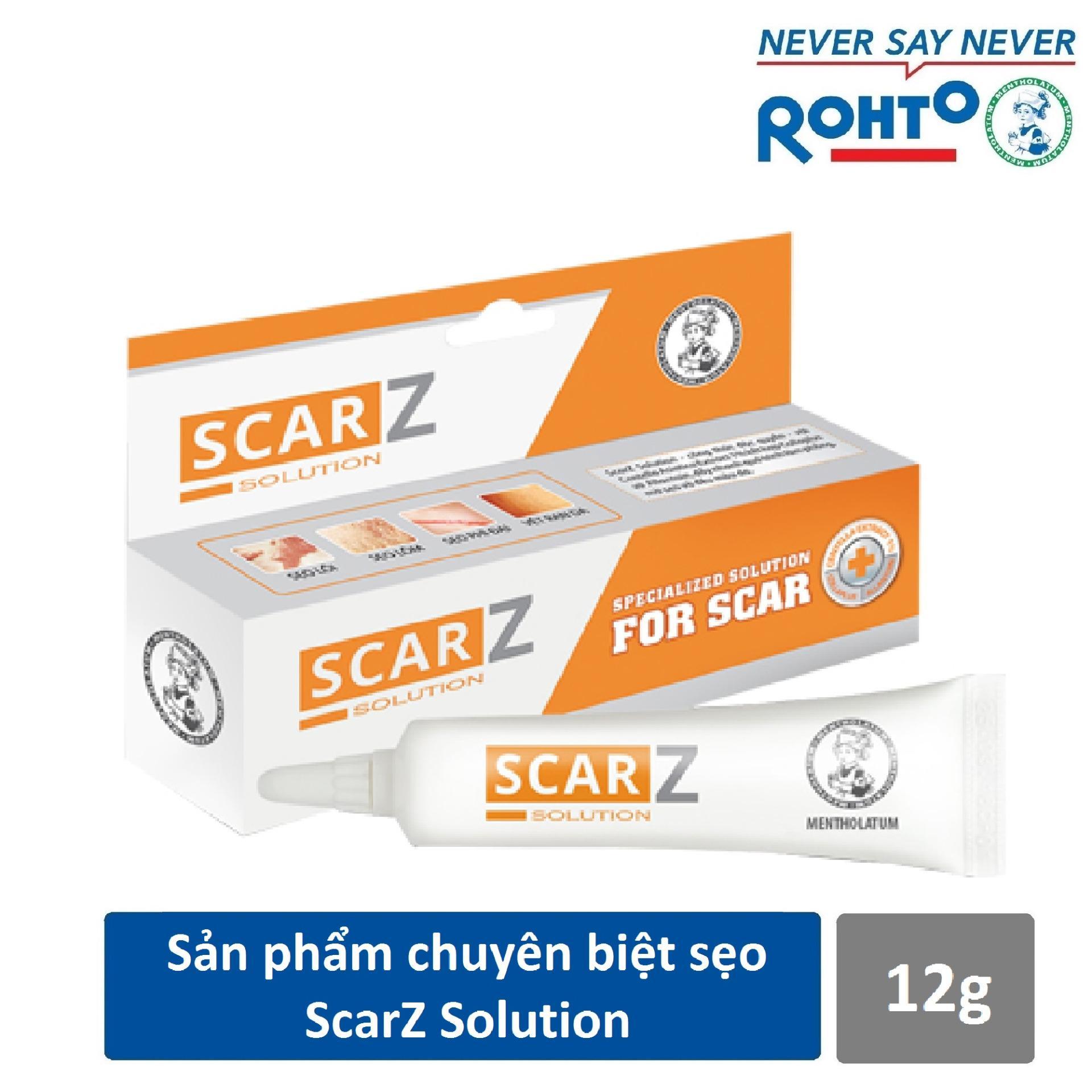 Sản phẩm chuyên biệt sẹo ScarZ 12g