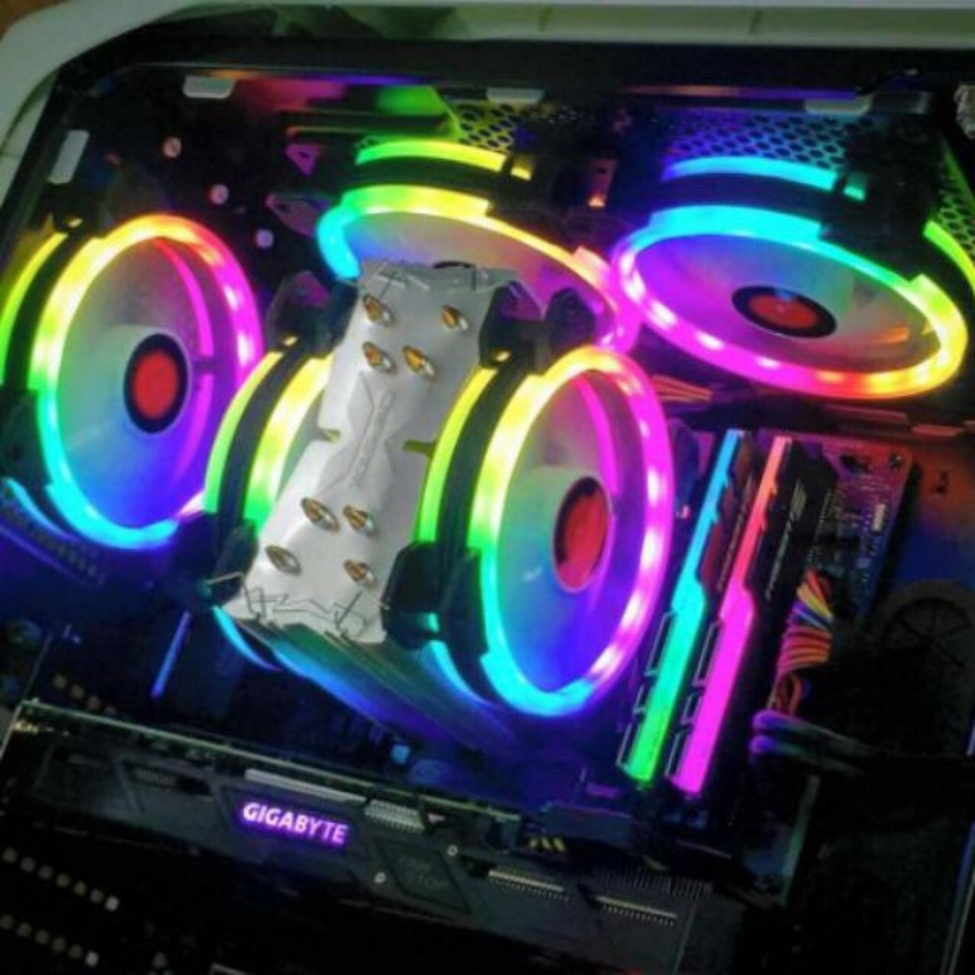 Giá Fan case Coolmoon RGB – 16 Triệu màu, 366 hiệu ứng Tại 3H COMPUTER