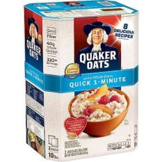 Bột yến mạch Quaker oats Mỹ 4.5kg (hạt cán vở)