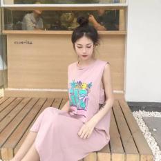 Đầm bigsize hở cách điệu cá tính V1 110 (hồng) big size
